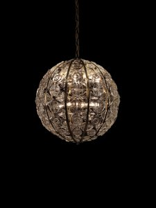 """Crystal Sphere"" Chandelier"