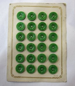 Cardboard Button Card with 24 Buttons