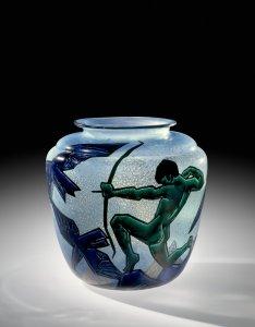 Vase with Archer
