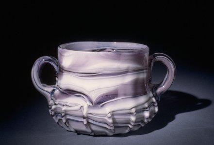 Handled Bowl or Jar