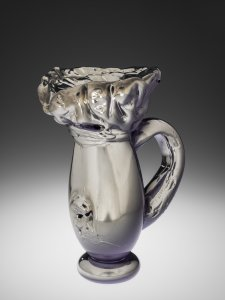Light Purple Silver Carpaint Pitcher