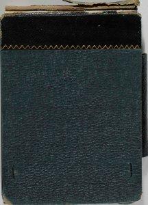 [Black/dark green sketchbook] 1885 / F. Carder.