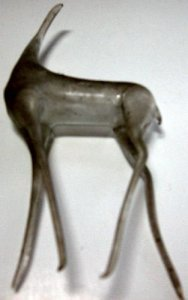Flameworked Body of a Stag