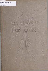 Oeuvres de René Lalique.
