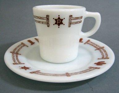 Pyrex Plate and Mug