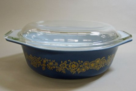 1-1/2 Quart Pyrex Casserole with Lid