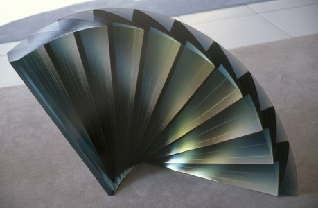 Blue fan [slide].