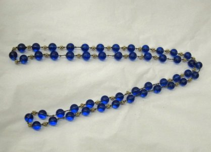 String of 50 Beads and Pearl Clusters