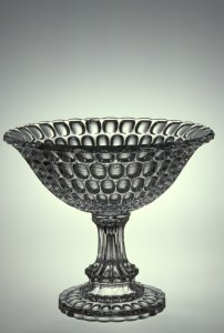 "Fruit Bowl Pressed in the ""Argus"" Pattern"