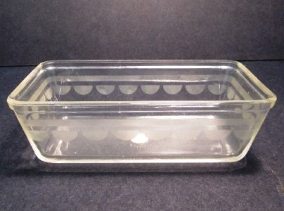 Etched Pyrex Loaf Pan