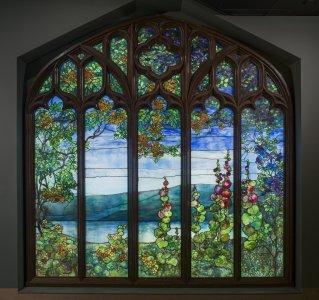 Window with Hudson River Landscape