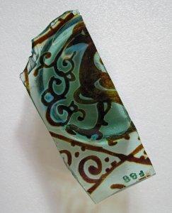 Fragment of Base of Lustre Vessel