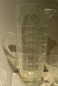 """Martini Pitcher in """"Royal"""" Pattern"""