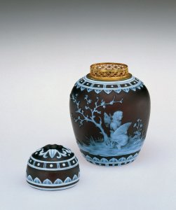 Potpourri Jar with Cover and Liner