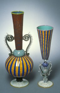Psychotantra vase and goblet [slide].