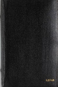 [Black notebook of loose leaf data sheets II].