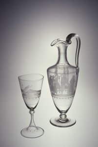 Pitcher and Goblet
