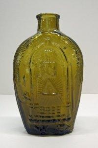 Masonic/Eagle Flask