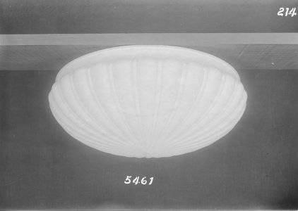 Shape no.: 5461 [molded dome shade] [picture].