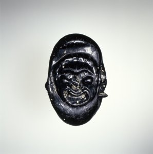 Spacer Bead with Theatrical Mask
