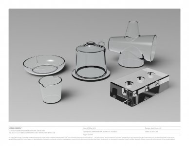 [Five experimental domestic vessels for use in prototyping design concepts] [electronic resource].