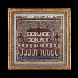 Beaded Picture of the Temple of Solomon