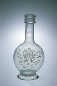 Bottle or Decanter with Screw-on Cap