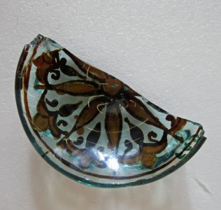 Fragment of Half of Small Lustre Bowl