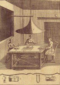 Johann Kunckels... vollständige Glassmacherkunst worinnen sowol dessen Erläuterungen über Anton Neri sieben Bücher von dem Glassmachen und Dr. Merrets hierüber gemachte Anmerkungen als auch eine grosse Anzahl nützlich und angenehmer Versuche nebst einem Anhang von den Perlen und Edelsteinen enthalten sind.