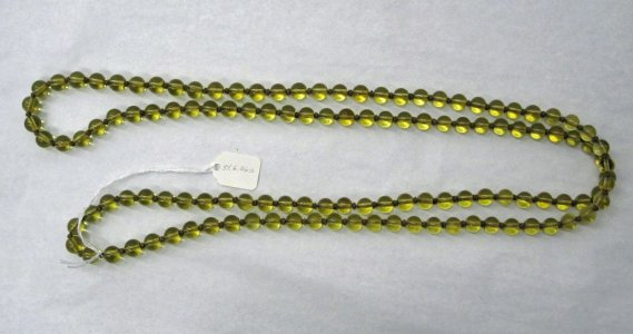 String of 122 Beads