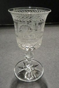 "Cordial Glass in ""Louis XIV"" Pattern"
