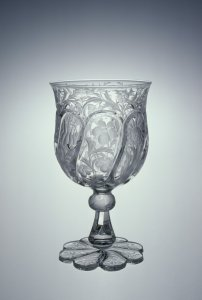 """Goblet in """"Pillar and Engraving 163"""" Pattern"""