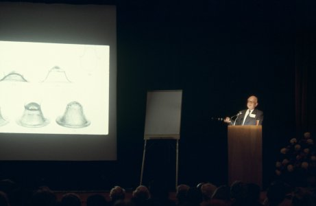 CMG Seminar, 1977 [slide]: lecture by Robert Charleston.
