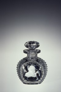 Sulphide Perfume Bottle and Stopper