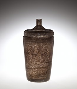 Large Covered Vase