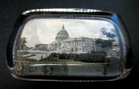 Paperweight of U.S. Capitol Building