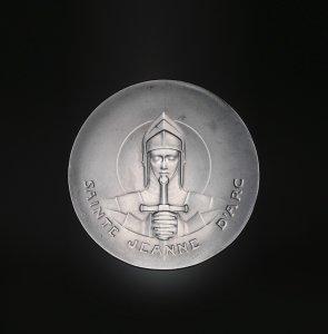 Medallion for St. Joan of Arc