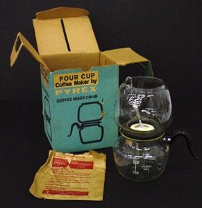 Pyrex Coffee Maker with Box