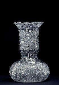 """Vase in """"Russian"""" Pattern"""