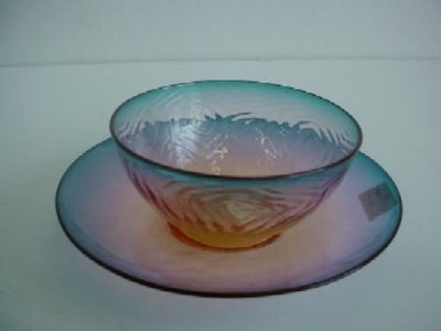 Finger Bowl and Plate