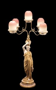 Cricklite Figural Five Light Fairy Lamp