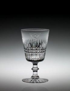 "Water Goblet in ""Venetian"" or ""White House"" Pattern"