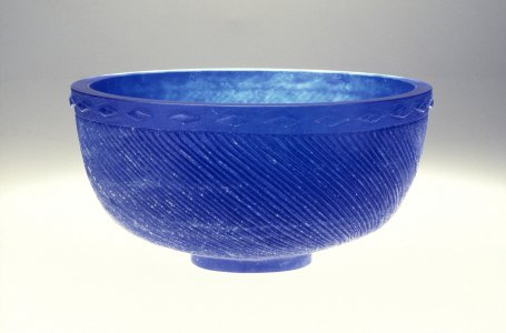 Cobalt bowl [slide].
