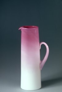"Pitcher ""Wild Rose"" Pattern"