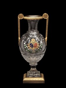 Vase with the Royal Arms of France