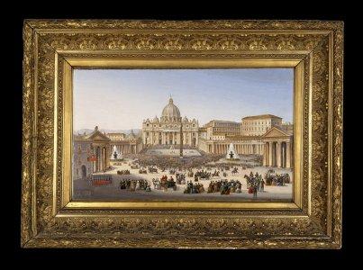Piazza S. Pietro nel momento della Benedizione Papale