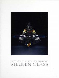 New sculpture by Peter Aldridge: Steuben Glass.