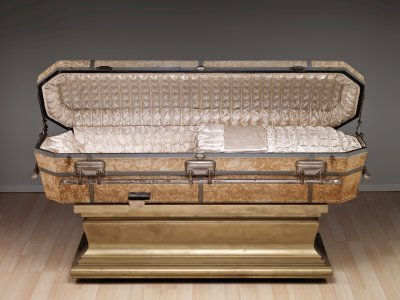 Casket with Stand