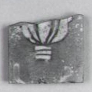 Fused Mosaic Inlay Fragment