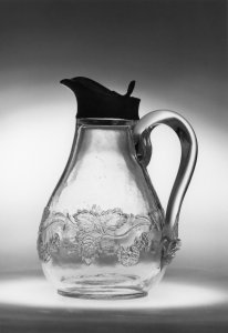Pitcher with blackberry pattern [picture]